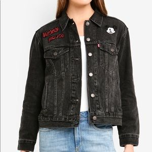 NWT Levi's Disney Ex Boyfriend Trucker Jacket